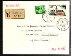 33951 - Recommandée  Du S.P.  86 569 A.F. - Guerra De Argelia