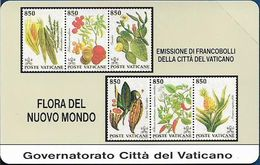Vatican - Flora Dal Nuovo Mondo - 5.000V₤, 1993, 19.600ex, Mint - Vaticano