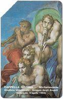 Vatican - Michelangelo, Cappella Sistina - 2.000V₤, 1994, 10.200ex, Used - Vatican