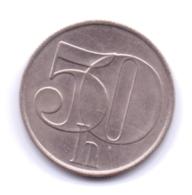 CZECHOSLOVAKIA 1992: 50 Haleru, KM 144 - Czechoslovakia