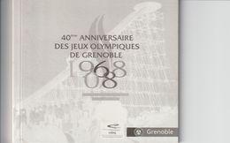 Sport :40 Anniversaire Des Jeux Olympiques De Grenoble ( Neuf 14 Pages) - Books, Magazines, Comics
