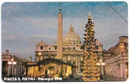Vatican - Presepe In Piazza S. Pietro - 10.000V₤, 1995, 20.000ex, Mint - Vaticano
