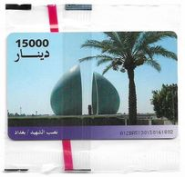 Iraq - ITPC (Chip) - Martyr Memorial, Gemplus Red, 15.000IrD, NSB - Irak