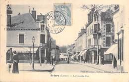 45 - BRIARE : La Grande Rue - CPA - Loiret - Briare