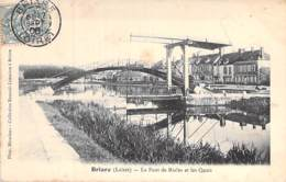 45 - BRIARE :  Le Pont De Rialto Et Les Quais - CPA - Loiret - Briare