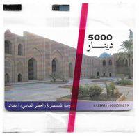 Iraq - ITPC (Chip) - Mustanseri School, Gemplus Black, 5.000IrD, NSB - Irak