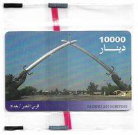 Iraq - ITPC (Chip) - Victory Arc, Gemplus Red, 10.000IrD, NSB - Irak