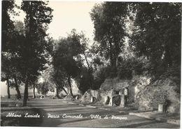 XW 2935 Albano Laziale (Roma) - Parco Comunale - Villa Di Pompeo / Non Viaggiata - Italië