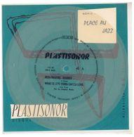 """Disque Plastisonor - Réf MIC 67 - 45 Tours - Plastique Souple Translucide - Série """"Place Au Jazz"""" - Formats Spéciaux"""