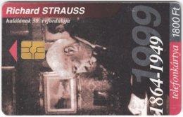 HUNGARY F-136 Chip Matav - Musician, Richard Strauss - Used - Hongrie