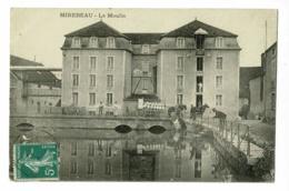Mirebeau - Le Moulin ( Animation, Char Chargé De Sacs) Circulé 1913 - Mirebeau