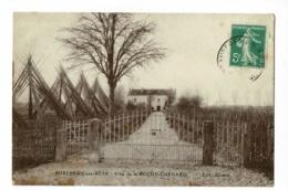 Mirebeau Sur Béze - Villa De La Roche-Guenard (perches Pour La Culture Du Houblon En Faisceaux) Circulé 1913 - Mirebeau