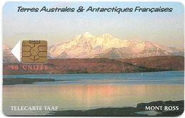 TAAF - Le Mont Ross - TAF-30 - 2003, 50U, 1.500ex, Used - TAAF - Terres Australes Antarctiques Françaises