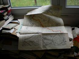 Vrsac Versecz Banat 1940 48x63 Cm - Cartes Géographiques