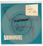 """Disque Plastisonor - Réf MIC 41-42 - 45 Tours - Plastique Souple Translucide - Série """"Place Au Jazz"""" - Formats Spéciaux"""