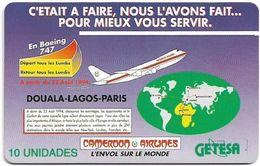 Equatorial Guinea - GETESA - Cameroon Airlines - SC7, Cn. 00146047, 10Units, Used - Guinée-Equatoriale