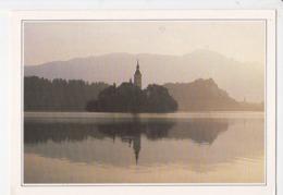 LAC DE BLED, Eglise De Sainte Marie Du Lac, Alpes Slovènes, Ed. Edito Service 1980 Environ - Slovenia