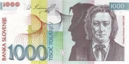 SLOVENIA P. 32a 1000 T 2003 UNC - Slovénie