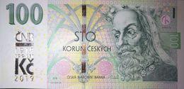 100 Korun/Kronen Czech Republic UNC 2019 With Commemorative Overprint / Mit Gedenkpräge - Tchéquie