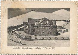 XW 2943 Rieti - Terminillo - Campoforogna - Albergo CIT - Panorama Invernale / Viaggiata 1957 - Rieti