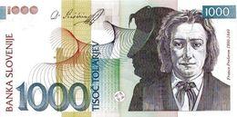 SLOVENIA P. 32b 1000 T 2004 UNC - Slovénie