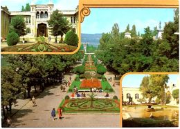 #830  Alley In Front Of Narzan Baths In Spa-City Of Kislovodsk, North Caucasus - RUSSIA - Postcard 1987 - Russia