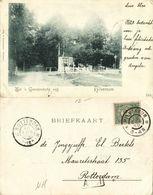 Nederland, HILVERSUM, Tol 's Gravelandsche Weg (1900) Ansichtkaart - Hilversum