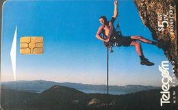 NOUVELLE-ZELANDE  -  Phonecard  - Telecom New Zealand Limited  - $ 5 - New Zealand