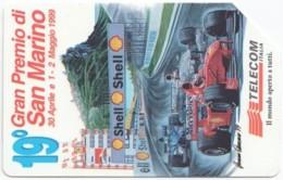 ITALY H-575 Magnetic Telecom - Sport, Motor Race, Formula One, Ferrari - Used - Italie