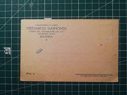 Cartolina Pubblicitaria / Commerciale Calzoleria Di Lusso Raimondi - Fattura Con Marca Da Bollo 50 Cent - Italia