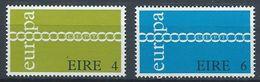 IRLANDA 1971 - EUROPA CEPT - YVERT Nº 267/268** - Nuovi