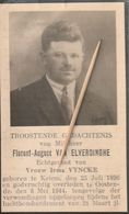 Oorlogsslachtoffer :   1944, Florent Van Elverdinghe, Vyncke, Keiem, Oostende - Religion & Esotérisme