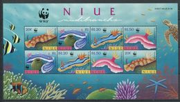 264 - NIUE 1999 - Yvert BF 127 - Nudibranche Limace De Mer - Neuf ** (MNH) Sans Trace De Charniere - Niue
