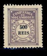 ! ! Mozambique Company - 1906 Postage Due 500 R - Af. P 10 - MH - Mozambique