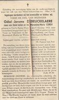 Oorlogsslachtoffer :   1945, Odiel Debeuckelaere, Cordy, Vieille Eglise, Gross-Eutersdorf, Kuhla Bij Weimar, Thuringen - Religion & Esotérisme