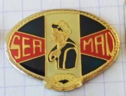 Pin's - SEA MAN   Mode Vêtements - Matelot Marin - Marques