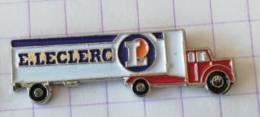Pin's - Hypermarché LECLERC - Semi-remorque - Camion - Alimentation
