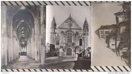4AF558 ST JOUIN DE MARNES ABBATIALE Lot De 3 Cartes  2 SCANS - Saint Jouin De Marnes