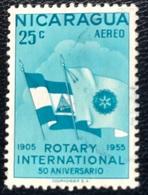 Nicaragua - A1/26 - (°)used - 1955 - 50 Jaar Rotary International - Michel Nr. 1096 - Nicaragua