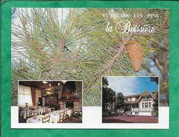Carte De Visite Saint-Brévin-Les-Pins (44) Hôtel La Boissière 70 Avenue De Mindin 2scans - Cartes De Visite