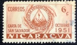 Nicaragua - A1/26 - (°)used - 1951 - ODECA - Michel Nr. 1034 - Nicaragua