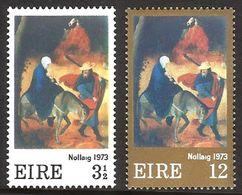 IRLANDA 1973 - NAVIDAD - NOEL - CHRISTMAS - YVERT Nº 298/299** - Nuovi