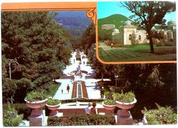 #831  The Park In Ostrovsky Baths Of Spa-City Zheleznovodsk, North Caucasus - RUSSIA - Postcard 1987 - Russia