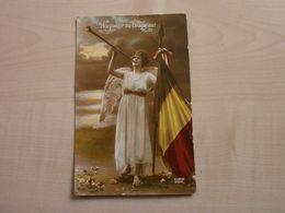 Carte Ancienne HONNEUR AU DRAPEAU (BELGE) - Patrióticos