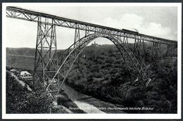 C7658 - TOP Müngsten Bergisch Land Zwischen Remscheid Und Solingen - Brücke Stahlbrücke - Wilhelm Fülle - Ponts