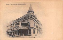 """010691 """"HOTEL FREMONT - FREMONT - OHIO""""   ANIMATA, AUTO CART  NON SPED DATATA 1987 - Hotels & Restaurants"""