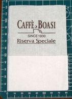 Tovagliolino Caffè Boasi Riserva Speciale TOVAGLIOLO CARTA - Werbeservietten