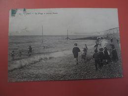 YPORT_La Plage A Marée Haute Avec Belle Animation_voyagé En 1918 - Yport