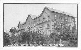 """010692 """"QUINEY'S - SANTA BRIGIDA - HOTEL LAS PALMAS""""   CART  NON SPED - Hotels & Gaststätten"""