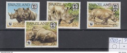 Swaziland Michel Cat.No. Mnh/**  528/531 - Swaziland (1968-...)